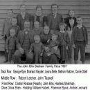 John Ellis Basham Family Circa 1897