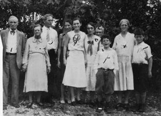 Leonidas Snell Family