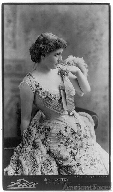 Lillie Langtry - British Singer & Actress