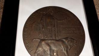 Frederick Walter Webb death medal