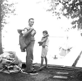 Steve Galgoczi with his daughter, Janice