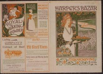 Harper's Bazaar--Thanksgiving 1894