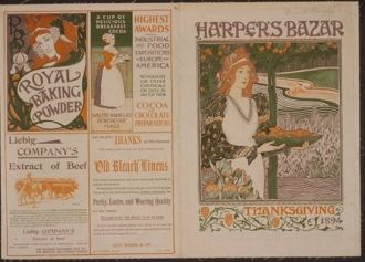 Harper's Bazaar--Thanksgiving 1894