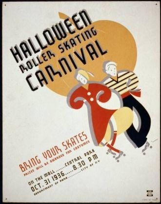 Halloween Poster, 1936