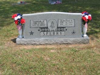 Burgess & Ellinor Sperry gravesite