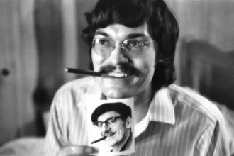 Postcard from Groucho Marx