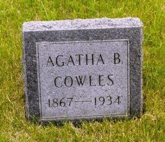 FARNER: Agatha Barbara Farner Cowles Grave