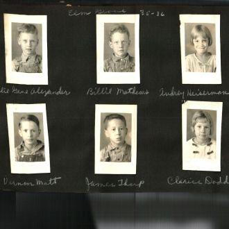 Elm Grove School, 1935-36  Missouri
