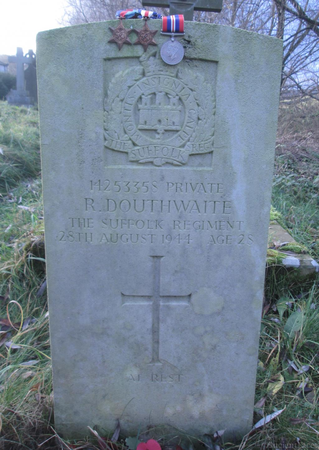 Reginald  Douthwaite gravesite