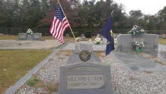 Millard Tew gravesite