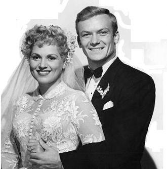 Judy Holliday and Aldo Ray