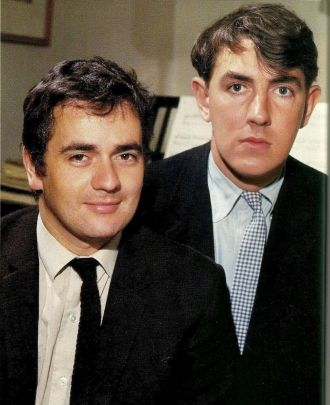 Dudley Moore and Peter Cook