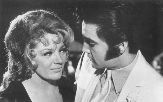 Sheree North and Elvis