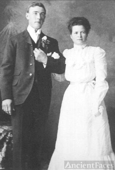 Archie & Ethel Dalgleish Wedding Photo