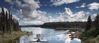 Fish Lake outside of Talkeetna, Alaska