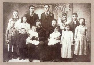 Stephen S  & Amanda (Howe) Kilmer Family