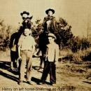 Henry, Sherman, Harold & Charles Burke, Florida 1942