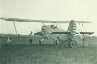 Pvt. Leonard J. Chapman, aircraft