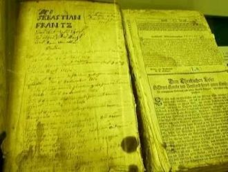 Sebastian Frantz Family Bible