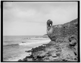 Haunted sentry box, San Juan, P.R.