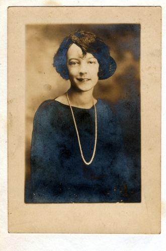 Lucille (Fuller) Johnson, 1920