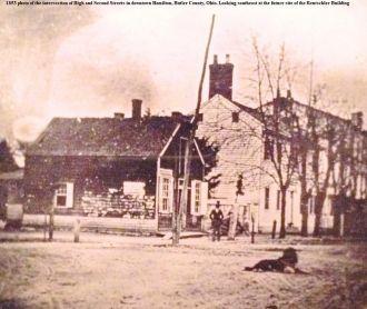 Hamilton, Ohio in 1853