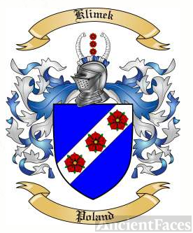 Klimek family crest