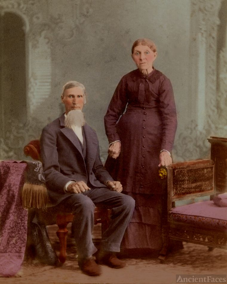 Jacob & Mary nee Lame Baughman