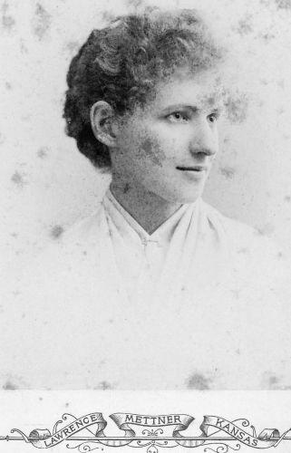 Maude Springer - White Cloud, Kansas 1891