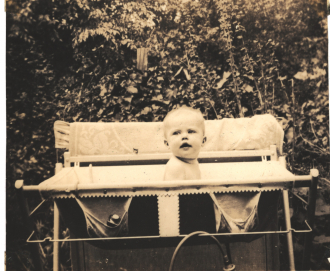 1940s Baby Bath