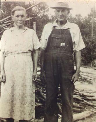 Henry & Lena (Alexander) Massey, 1930's