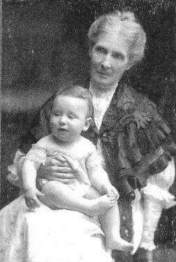 Addison Abbott & Grandma, Cynthia (Ague) Hoover
