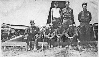 Seven Unknown Army Men