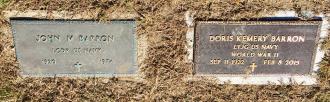 John Martin Barron-- gravestone 2
