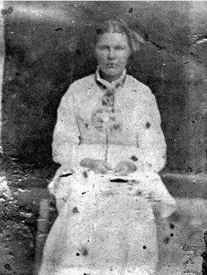 Unknown Young Woman
