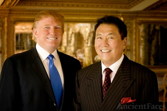 Robert Kiyosaki and Donald Trump