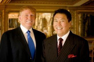 Robert Kiyosaki and Donald Trump