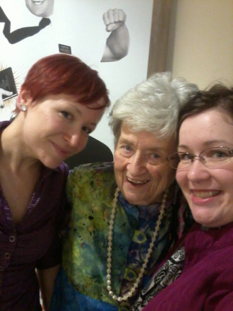 Grandma and Rafferty grand daughters