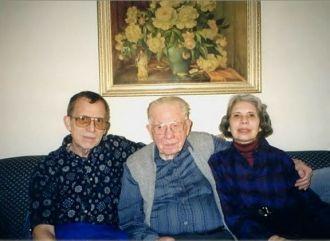 Earl S., Kenneth, & Phyllis Bramer, 1999
