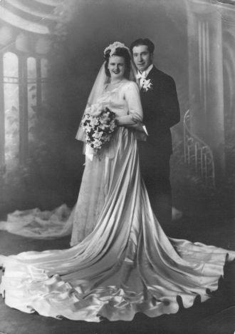 Fred & Lillian E Caselli wedding