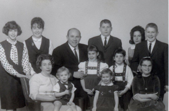 Alfred C Roberson Family 1965