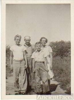 Norbert and Rose Galgoczi Salchert and sons