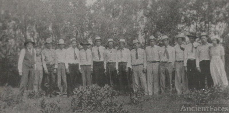 Burns family 13 boys, 1 girl