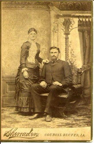 Jürgen & Maria (Green) Brandt, Iowa 1882