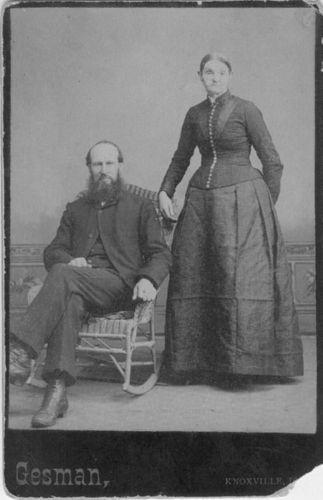 William G. Kennedy w/wife Julia Anne Flanagan