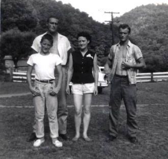 Dana Hastings and three of her boys