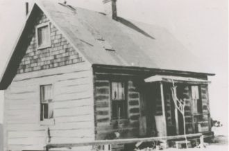 Home of Robert  Frederick and Mary Gill in Yost, Utah
