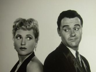 Judy Holliday with Jack Lemmon