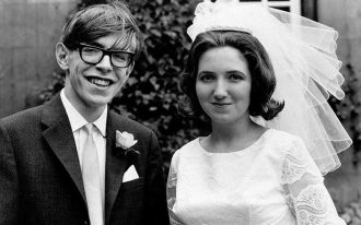 Stephen and Jane (Wilde) Hawking