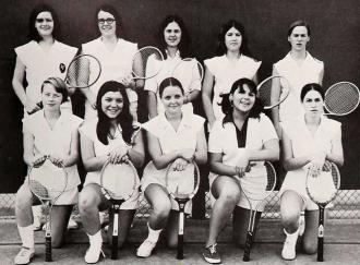 Waltrip High School 1971 Tennis Team
